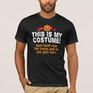 おもしろいこれは衣裳のハロウィンの私の暗闇です Tシャツ