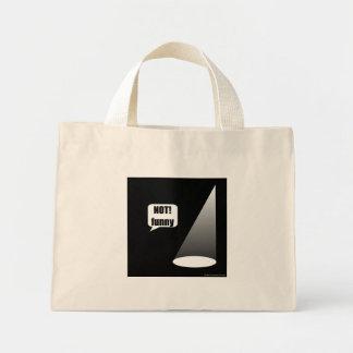 おもしろいではない淡色のバッグ ミニトートバッグ