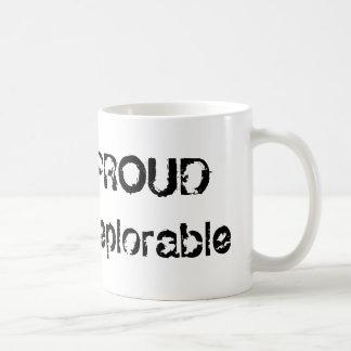 おもしろいでクールで誇りを持ったで嘆かわしい政治マグ コーヒーマグカップ