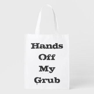 おもしろいで再使用可能な食料雑貨の買い物袋 エコバッグ