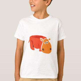 おもしろいで初期のな芸術のカバ Tシャツ