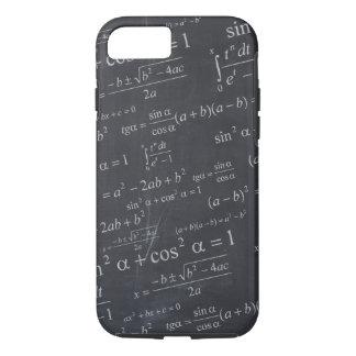 おもしろいで及びクールな黒板の数学の方式- iPhone 8/7ケース