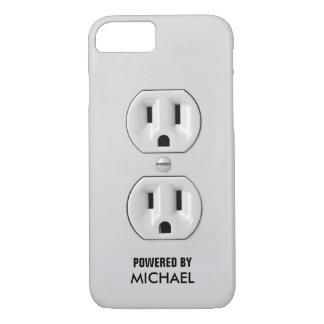 おもしろいで名前入りなパワーアウトレット iPhone 7ケース