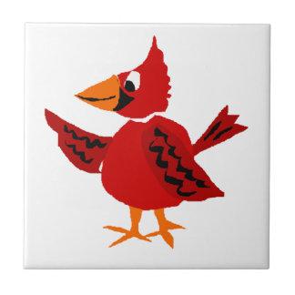 おもしろいで基本的なRedbirdのオリジナルの芸術 タイル