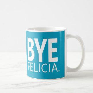 おもしろいで従属的なフェリシアの引用文のカスタマイズ可能なコーヒー・マグ コーヒーマグカップ