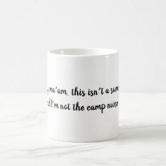 おもしろいで恥知らずなナースの引用文 コーヒーマグカップ