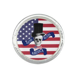 おもしろいで愛国心が強いアメリカ人 リング