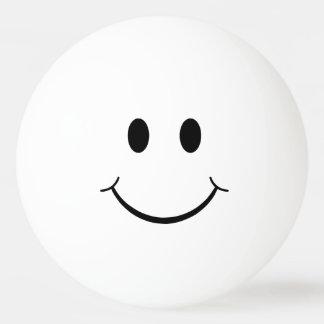 おもしろいで明白なスマイリーフェイス 卓球ボール