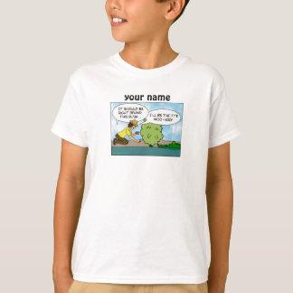 おもしろいで極度な隠し場所Geocachingは名前入りからかいます Tシャツ