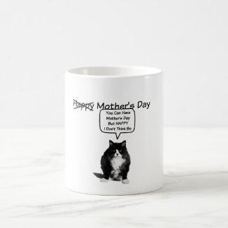 おもしろいで気難しい猫の母のマグ コーヒーマグカップ