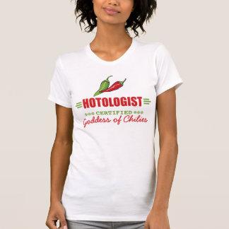 おもしろいで熱いチリペッパー Tシャツ