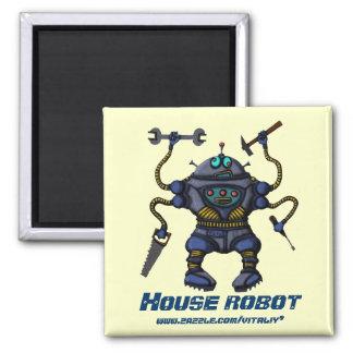 おもしろいで熱狂するなロボット磁石のデザイン マグネット
