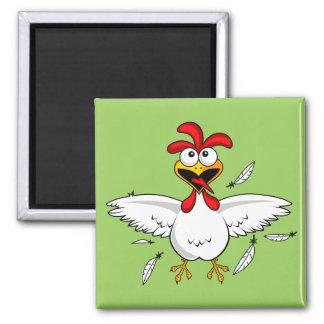 おもしろいで熱狂するな漫画の鶏手羽肉の試み マグネット