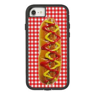 おもしろいで現実的なホットドッグの携帯電話の箱 Case-Mate TOUGH EXTREME iPhone 8/7ケース