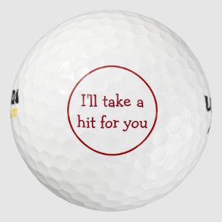 おもしろいで皮肉なゴルフ・ボール ゴルフボール