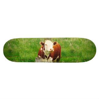 おもしろいで皮肉な牛4André カスタムスケートボード