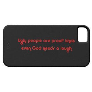 おもしろいで醜い人々の冗談のユーモア iPhone SE/5/5s ケース