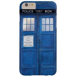 おもしろいで青い公衆電話ボックス呼出し箱 BARELY THERE iPhone 6 PLUS ケース