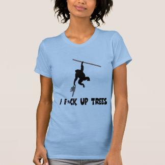 おもしろいで、攻撃的な猿 Tシャツ