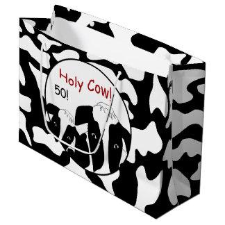 おもしろいなうわー誕生日LGB ラージペーパーバッグ