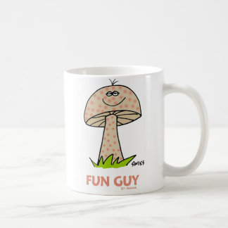 おもしろいなおもしろいの人の彼のためのかわいくおっちょこちょいのなきのこの漫画 コーヒーマグカップ