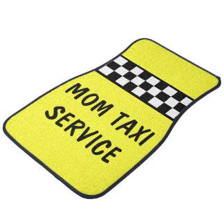おもしろいなお母さんのタクシーサービスカーマット フロアーマット