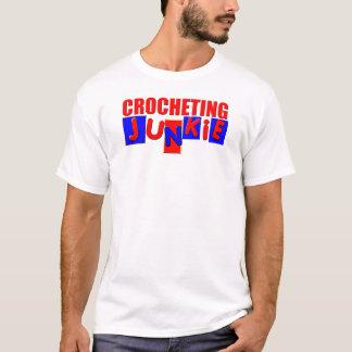 おもしろいなかぎ針で編むこと Tシャツ