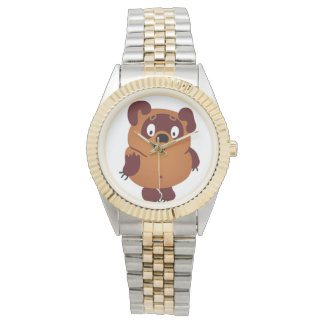 おもしろいなくまを見て下さい 腕時計