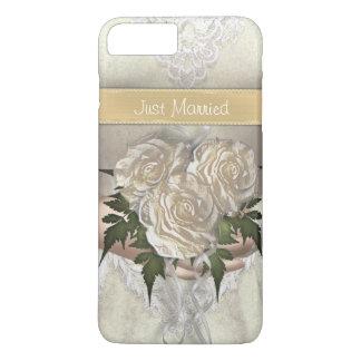 おもしろいなたった今結婚しましたの花嫁 iPhone 8 PLUS/7 PLUSケース