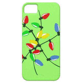 おもしろいなもつれさせた混合されたクリスマスツリーライト iPhone SE/5/5s ケース