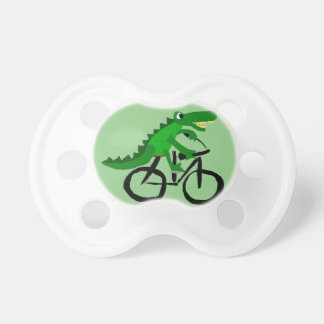 おもしろいなわに乗馬の自転車 おしゃぶり