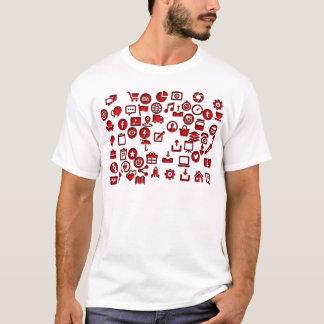 おもしろいなアイコンインターネット Tシャツ