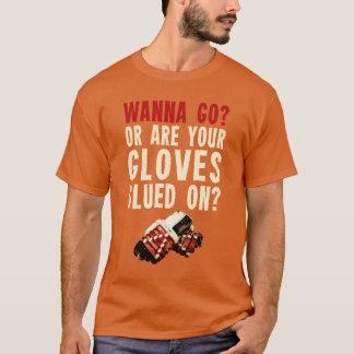 おもしろいなアイスホッケーの執行者のTシャツ Tシャツ