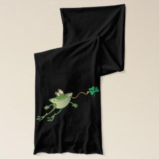 おもしろいなアイルランドのカエル スカーフ