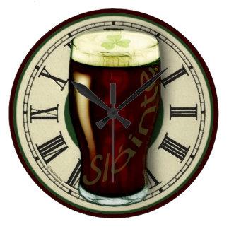 おもしろいなアイルランドの丈夫な柱時計 ラージ壁時計