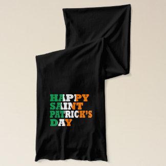 おもしろいなアイルランド語st patricks day スカーフ