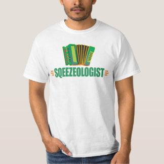 おもしろいなアコーディオン音楽 Tシャツ