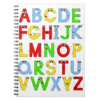 おもしろいなアルファベット ノートブック
