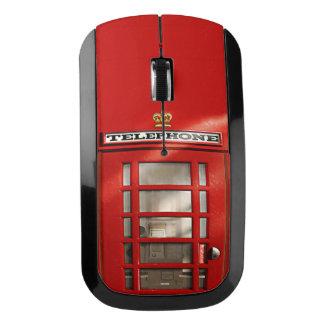 おもしろいなイギリスの赤い公衆電話ボックス ワイヤレスマウス
