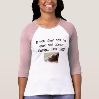 おもしろいなイヌハッカの公共事業の発表T Tシャツ