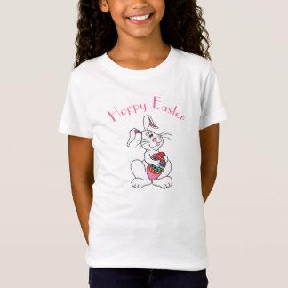 おもしろいなイースターのウサギ及び卵-カスタマイズ可能なTシャツ Tシャツ