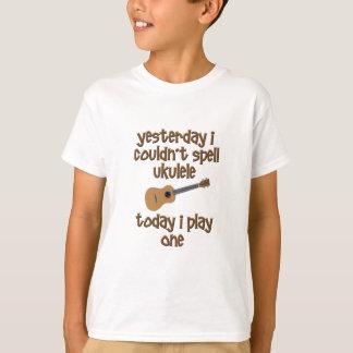 おもしろいなウクレレ Tシャツ