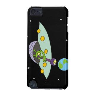 おもしろいなエイリアンおよび地球のipod touchの場合 iPod touch 5G ケース