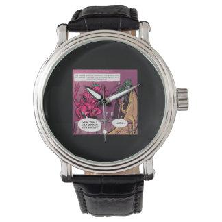 おもしろいなオーガニックなおよびGMOの日付 腕時計