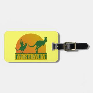おもしろいなオーストラリア ラゲッジタグ