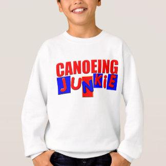 おもしろいなカヌーをこぐこと スウェットシャツ