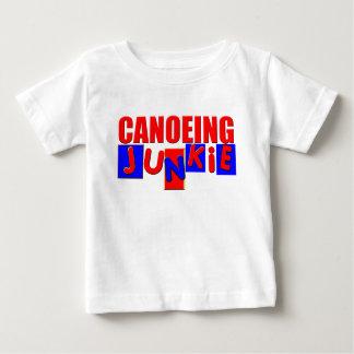 おもしろいなカヌーをこぐこと ベビーTシャツ