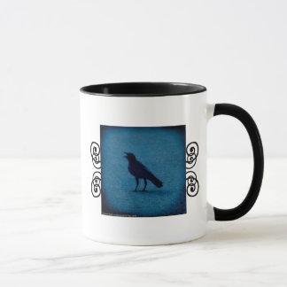 おもしろいなカラスエストニア語定義マグ マグカップ