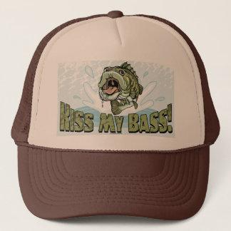 おもしろいなキス漁師のための私の低音のギフトのアイディア キャップ