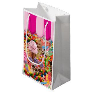 おもしろいなキャンデーによってすごい甘いアイスクリーム スモールペーパーバッグ